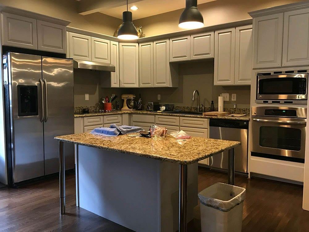 Kitchen Cabinet Refinishing Charlotte ~ Dilworth