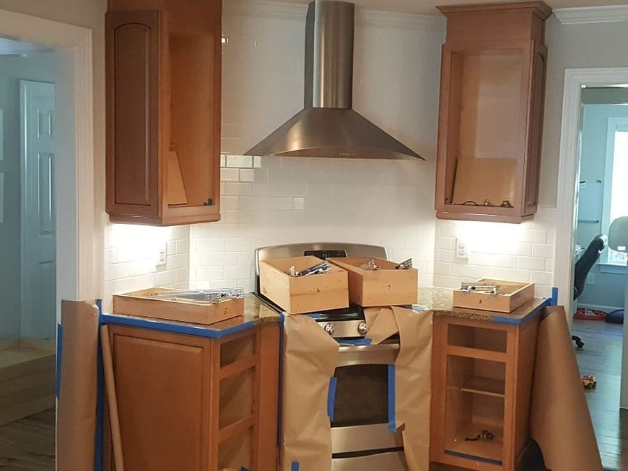 DeHaan Painting   Kitchen Cabinet Painting In Charlotte