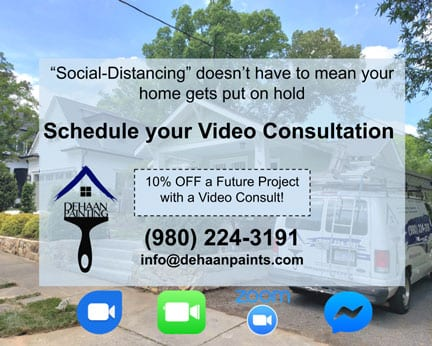 10% off Charlotte House Painting